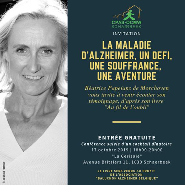 19 octobre: conférence de Béatrice Papeians (Bxl)